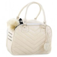 Cream Couture Pet Carrier